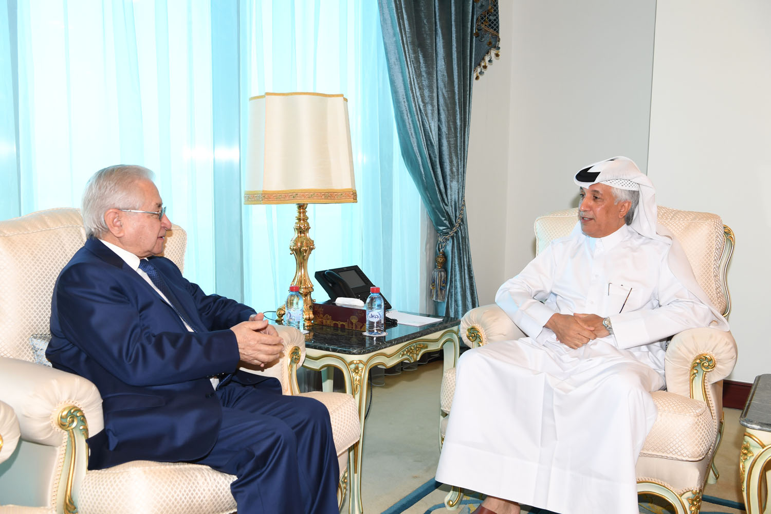 Minister of State for Foreign Affairs Meets Ambassador of Azerbaijan
