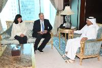 Ministry of Foreign Affairs Secretary-General Meets Ambassador of Austria, Organization for International Economic Relations' Official