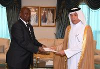 Minister of State for Foreign Affairs Receives Copy of Credentials of Ambassador of Republic of Cote d'Ivoire