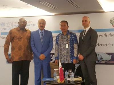سفير قطر لدى إندونيسيا يشيد بجهود مكتب الأمم المتحدة المعني بالمخدرات والجريمة
