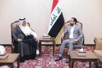 Speaker of Iraq's Council of Representatives Meets Qatar's Ambassador