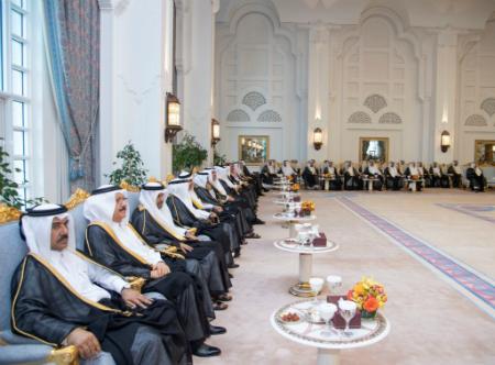 سمو الأمير يقيم مأدبة إفطار لرؤساء البعثات الدبلوماسية وسفراء قطر في الخارج