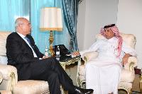 Minister of State for Foreign Affairs Meets UN Deputy Special Envoy for Syria