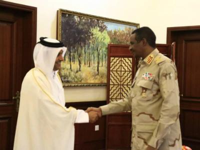 عضو مجلس السيادة الانتقالي بالسودان يجتمع مع المبعوث الخاص لوزير الخارجية