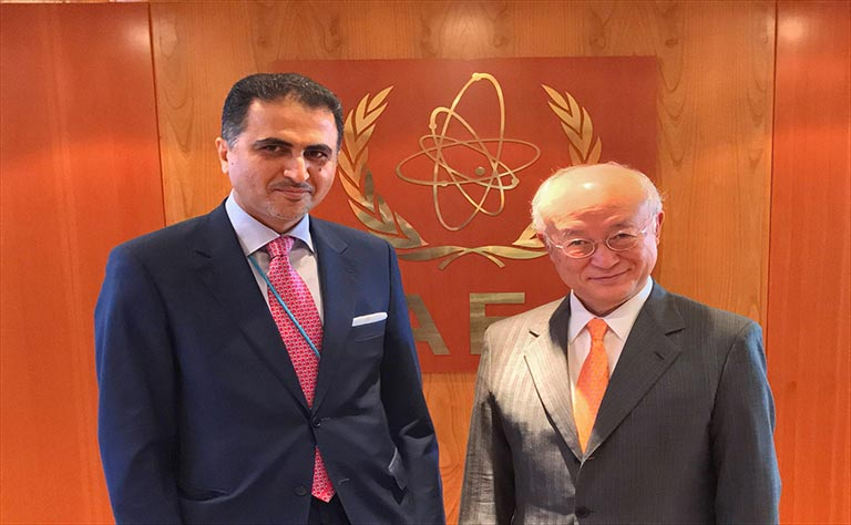 IAEA Director General Meets Qatar's Permanent Representative in Vienna