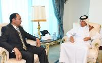 Minister of State for Foreign Affairs Bids Farwell to Ambassador of Republic of Kyrgyzstan