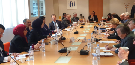Foreign Ministry Spokesperson Participates in IFRI Round Table