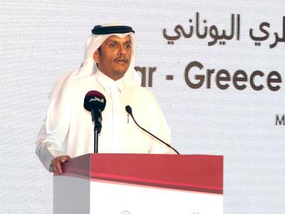 نائب رئيس مجلس الوزراء وزير الخارجية: القواسم المشتركة بين قطر واليونان أرضية صلبة لتعزيز العلاقات الاقتصادية بينهما