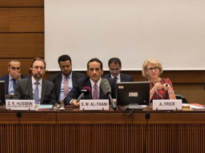 نائب رئيس مجلس الوزراء وزير الخارجية: معاقبة مرتكبي جرائم الحرب في سوريا باتت أمرا ملحا