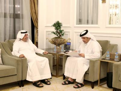 نائب رئيس مجلس الوزراء وزير الخارجية يتلقى رسالة خطية من نظيره الكويتي