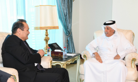 Deputy Prime Minister and Foreign Minister Receives Written Message from Kazakh FM