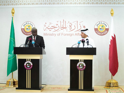 Deputy Prime Minister and Minister of Foreign Affairs Praises Qatari-African Cooperation to Support African Migrants