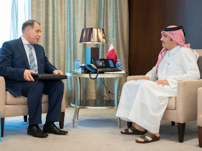Deputy Prime Minister and Foreign Minister Meets GECF Secretary General