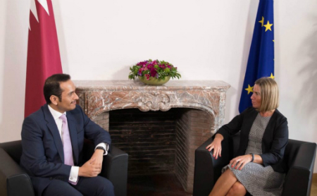 Deputy Prime Minister and Minister of Foreign Affairs Meets EU High Representative for Foreign and Political Affairs and Security
