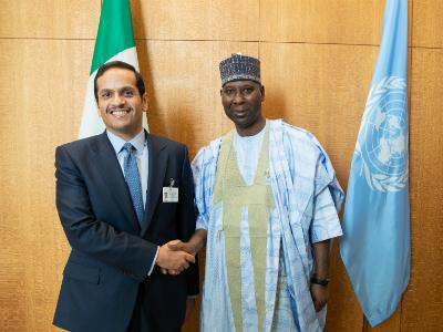 نائب رئيس مجلس الوزراء وزير الخارجية يجتمع مع رئيس الدورة الـ 74 للجمعية العامة للأمم المتحدة