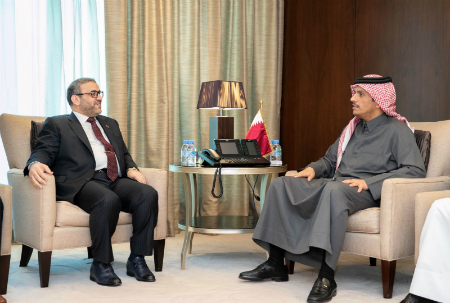Deputy Prime Minister and Minister of Foreign Affairs Meets Chairman of High Council of Libya