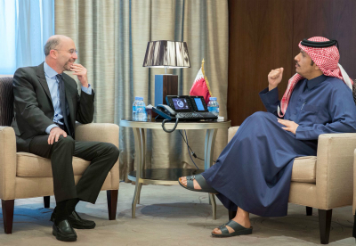 Deputy Prime Minister and Foreign Minister Meets President of International Crisis Group
