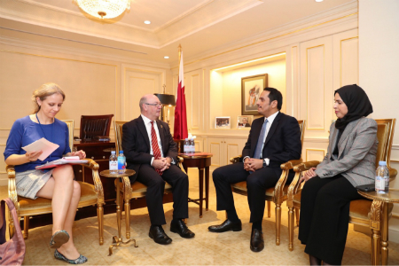 Deputy Prime Minister and Minister of Foreign Affairs Meets Officials on Sidelines of UN General Assembly