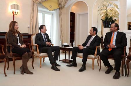 نائب رئيس مجلس الوزراء وزير الخارجية يجتمع مع عدد من المسؤولين على هامش مؤتمر ميونخ للأمن