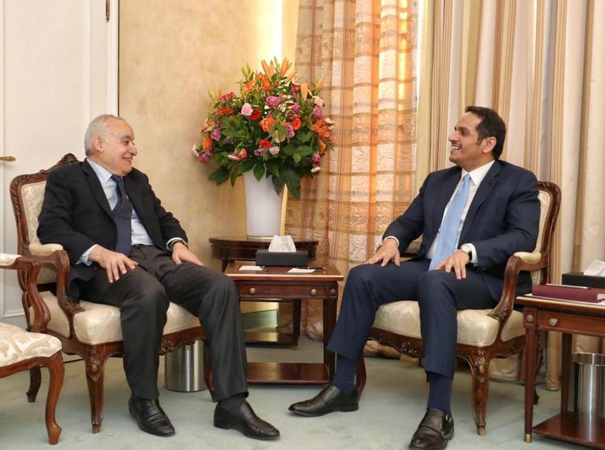 نائب رئيس مجلس الوزراء وزير الخارجية يجتمع مع عدد من المسؤولين في ميونخ