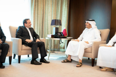 Deputy Prime Minister and Minister of Foreign Affairs Meets Iran's Deputy Foreign Minister