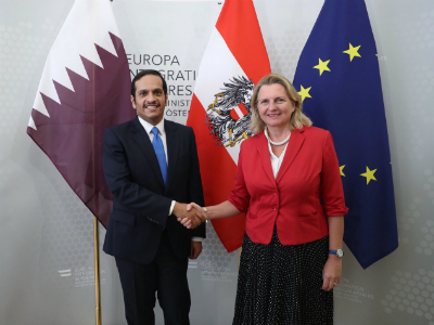 Deputy Prime Minister and Minister of Foreign Affairs Meets Austrian Foreign Minister