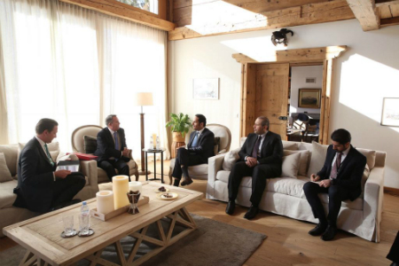 Deputy PM and Foreign Minister Meets UK International Trade Secretary