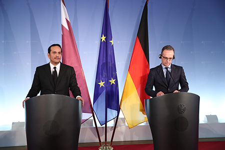 Deputy Prime Minister and Minister of Foreign Affairs: Qatar, Germany Agree on Need for Political Solution in Libya