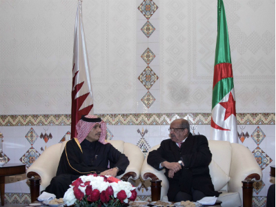 Deputy Prime Minister and Foreign Minister Meets Algerian Foreign Minister