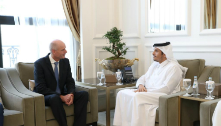Deputy Prime Minister and Minister of Foreign Affairs Meets Netherland's Foreign Minister