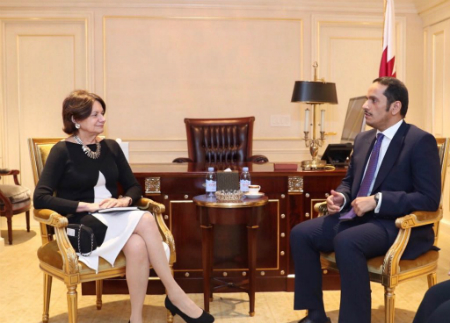 Deputy Prime Minister and Minister of Foreign Affairs Meets UN Under-Secretary-General