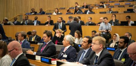 نائب رئيس مجلس الوزراء وزير الخارجية يشارك في اجتماع رفيع المستوى حول الصومال
