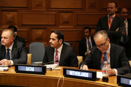 Deputy Prime Minister and Minister of Foreign Affairs Participates in Ad Hoc Liaison Committee's Ministerial Meeting