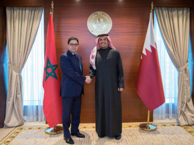 Deputy Prime Minister and Foreign Minister Meets Moroccan Minister of Foreign Affairs and International Cooperation
