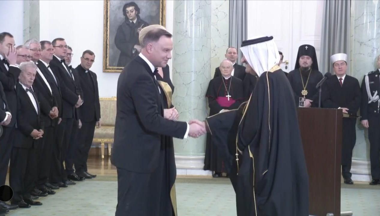 سفير دولة قطر لدى بولندا يحضر الحفل السنوي بمناسبة العام الميلادي الجديد