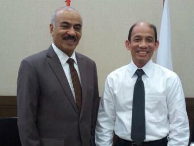وزيرة الطاقة الإندونيسي يجتمع مع سفير قطر