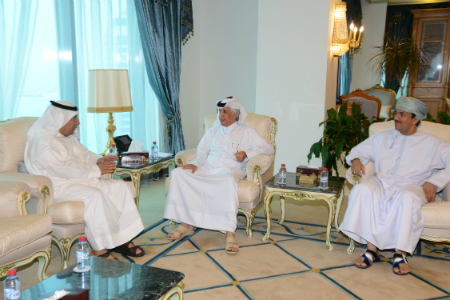 Minister of State for Foreign Affairs, Secretary General Update Ambassadors on Gulf Crisis