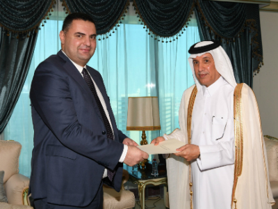 State Foreign Affairs Minister Receives Copy of Credentials of Georgia, Gambia Ambassadors