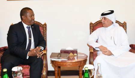 Minister of State for Foreign Affairs Meets Secretary General of Madagascar Presidency