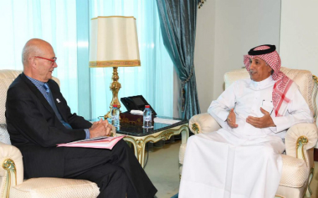 State Minister for Foreign Affairs Meets French Inter-ministerial Delegate for World Expo 2025