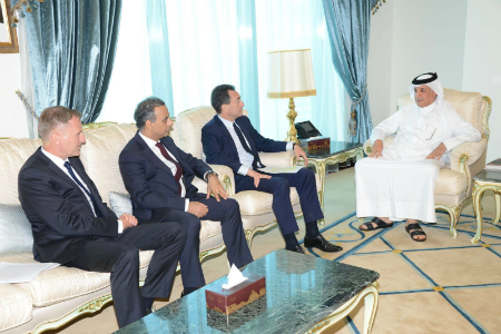 Minister of State for Foreign Affairs Meets Ambassadors of France, UK and Germany