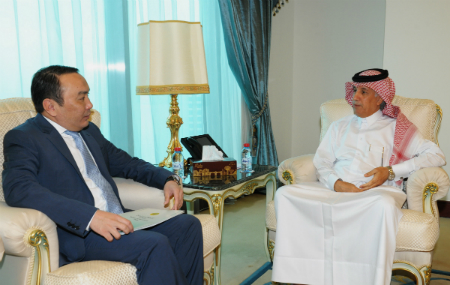 Minister of State For Foreign Affairs Meets Kazakhstan Ambassador
