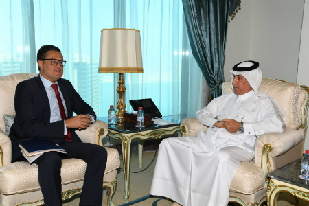Minister of State for Foreign Affairs Meets Venezuelan Official