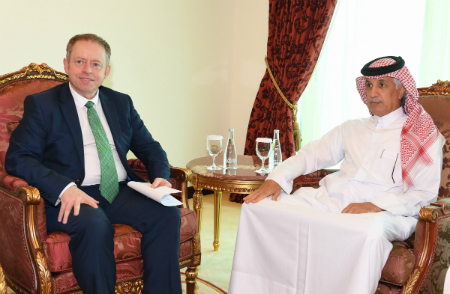 Minister of State for Foreign Affairs Meets Irish Minister of State