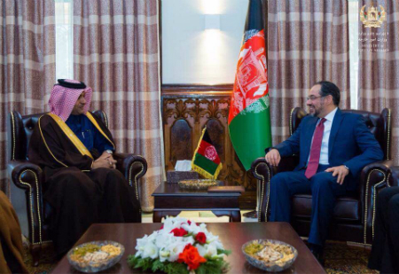 Afghanistan Foreign Minister Meets Qatar's Foreign Ministers Special Envoy for Combating Terrorism