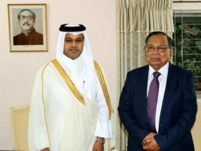 Foreign Minister of Bangladesh Meets Qatar's Ambassador