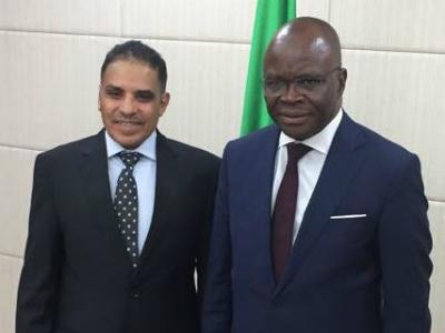 Foreign Minister of Benin Meets Qatar's Ambassador