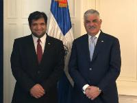 Dominican Republic's Foreign Minister Meets Qatar's Charge D'Affaires