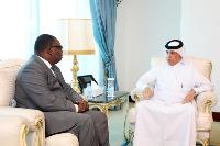 Minister of State for Foreign Affairs Bids Farewell to Ambassador of Burkina Faso