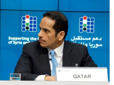 Qatar Announces Contribution Of $ 100 Million In Support Of Syrian People